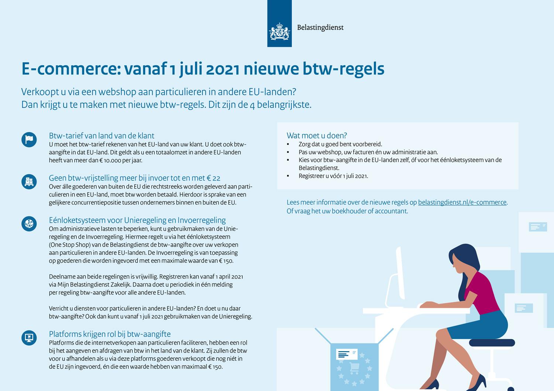 Ben jij al klaar voor de nieuwe btw-regels voor webshops vanaf 1 juli?
